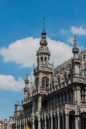 counted: Maison du Roi (Kings House) or Broodhuis (Bread hall), one of the buildings counted as a UNESCO World Heritage Site in Brussels Grand Place in Belgium