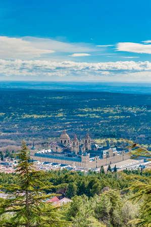 kilometres: The Royal Seat of San Lorenzo de El Escorial, historical residence of the King of Spain, about 45 kilometres northwest Madrid, in Spain.