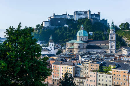 salzach: The Salzburg Cathedral (Salzburger Dom) is a 17th century baroque cathedral dedicated to Saint Rupert in Salzburg, Austria