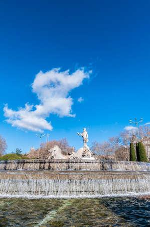 neoclassical: Fountain of Neptune (Fuente de Neptuno), a neoclassical monument designed in 1777 at the center of the Canovas del Castillo square in Madrid, Spain.
