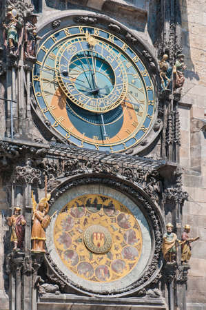 edifices: Astronomical Clock at Old Town Square, also known as The Orloj