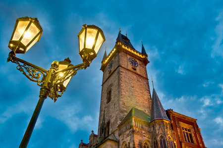 Astronomical Clock at Old Town Square, also known as