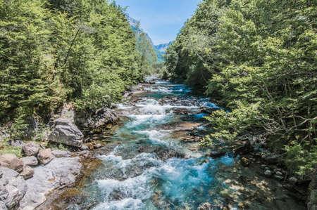 Parque Nacional de Ordesa y Monte Perdido ubicado en la provincia de Aragón, España