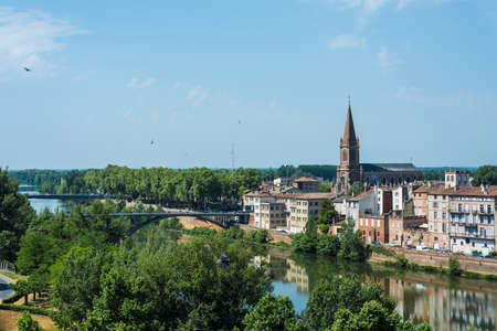 Saint Orens Church in Montauban, Tarn et Garonne, Midi Pyrenees, France