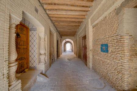 Medina quarter in Tozeur, Tunisia Reklamní fotografie