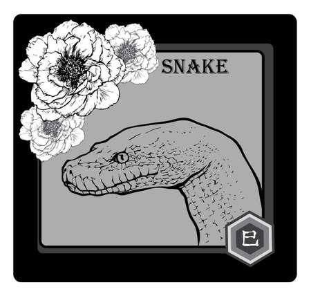 calender icon: SNAKE Illustration