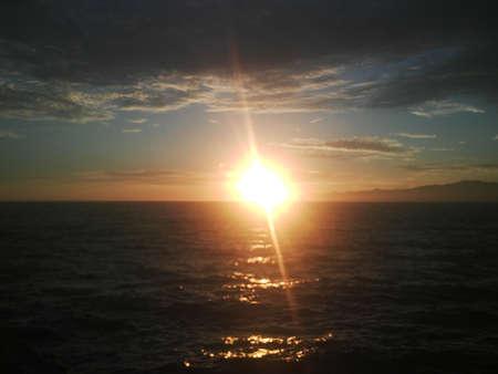 malibu: Malibu Sunset Stock Photo