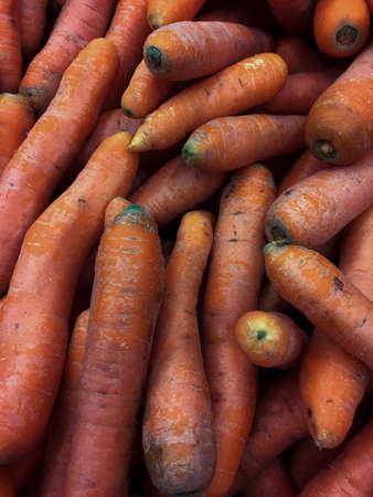 heap: Heap of carrot as background