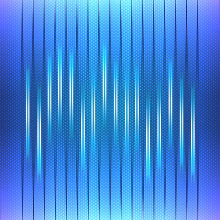 vibrations: Abstract Background and Blue Equalizer