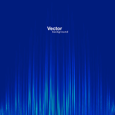Voice muziek equalizer, wave sound Stock Illustratie