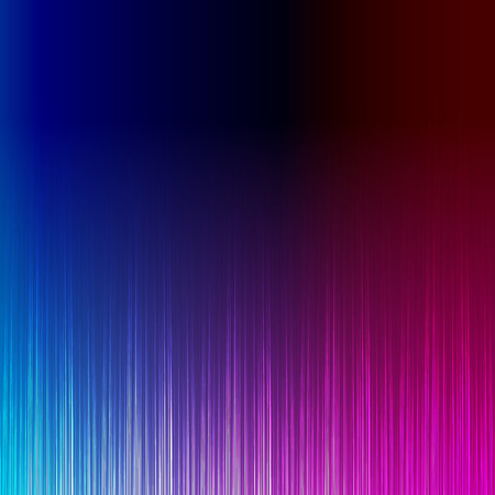 colorful light display: Blue and pink stylish equalizer, wave sound Illustration