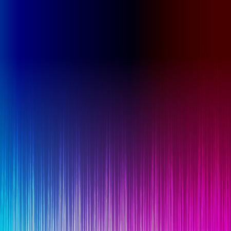 Blue and pink stylish equalizer, wave sound Illustration