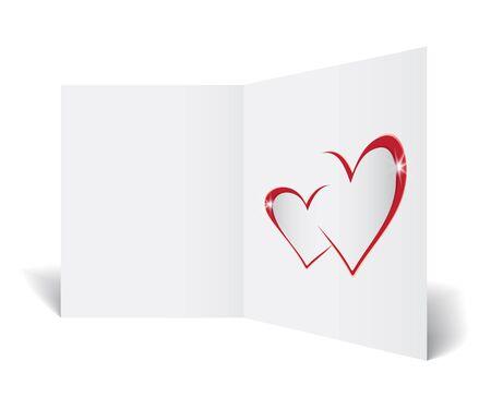postcard: love postcard Illustration