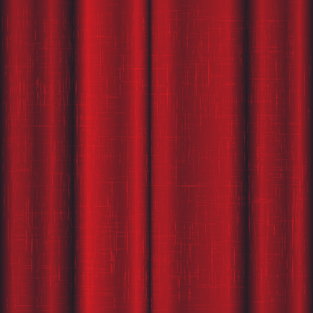 cotton velvet: Red linen curtains for the stage