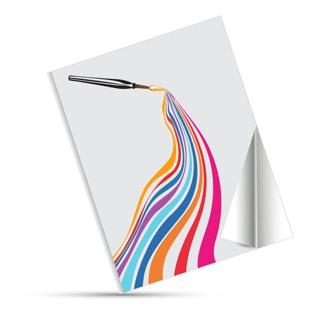 prepress: rainbow and design book