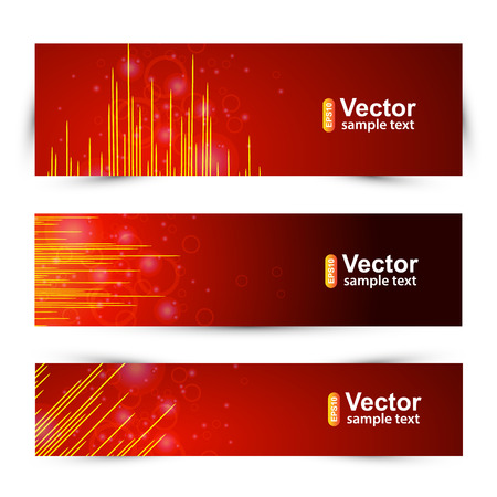 vibrations: music and equalizer banners