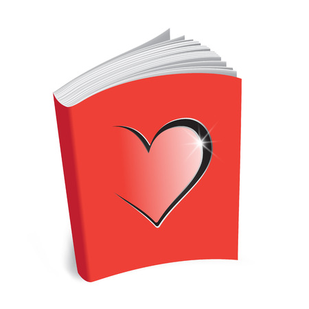 love letter template book of love background