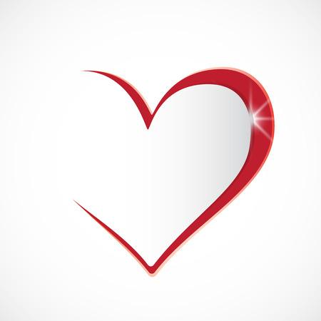 Ich liebe dich Herz Hintergrund Standard-Bild - 51811892