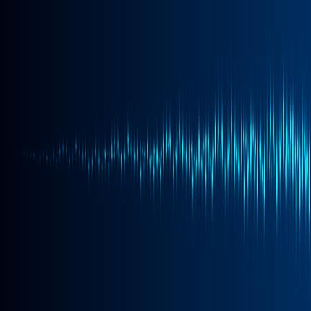 electronica musica: Ecualizador con el aumento de la onda