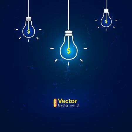 idee van de winst, template-concept