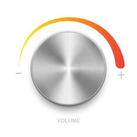 volume control: volume control on a white background