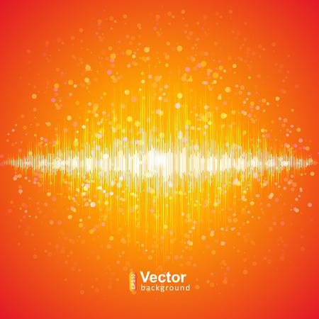 Music equalizer, de la technologie et son illustration vectorielle