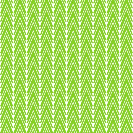moulding: Seamless green pattern and vector illustration