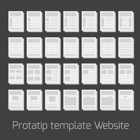 deliverables: Flowchart for site map and vector illustration