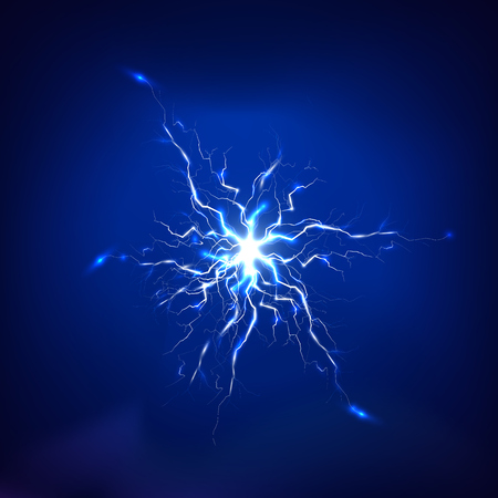 lighting effect: Electric lighting effect, abstract techno backgrounds for your design