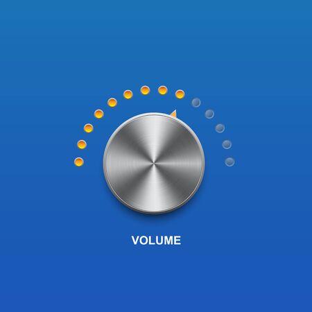 volume sound and vector button Vetores