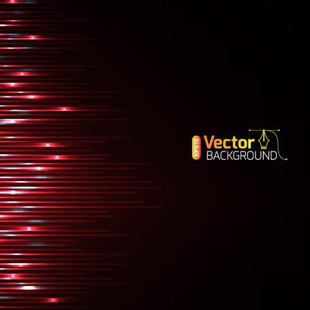 Résumé forme d'onde et le vecteur de fond. Vecteurs