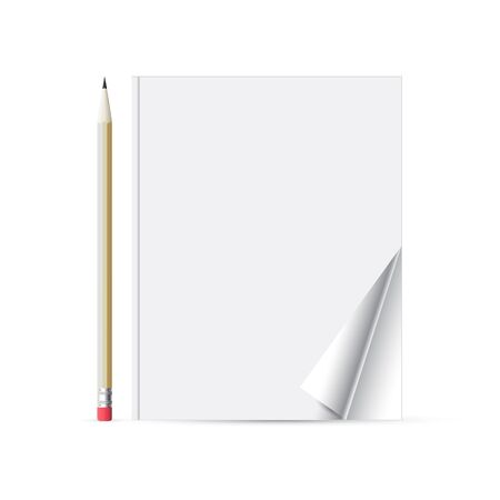 Pencil with a notebook