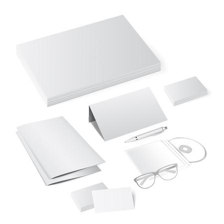 Corporate identity template set. Vector Branding design.