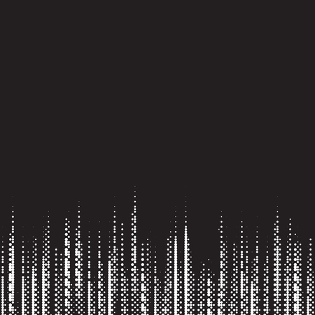 Monochrome digital equalizer background, music equalizer