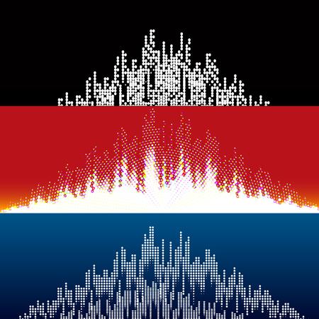 Set music equalizer
