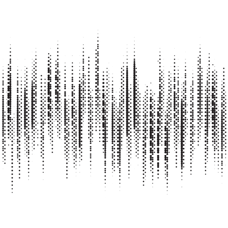 black and white equalizer