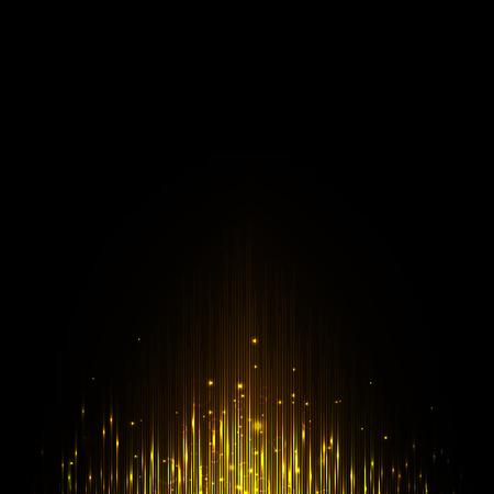 Gouden equalizer, magische golf, de oscilloscoop