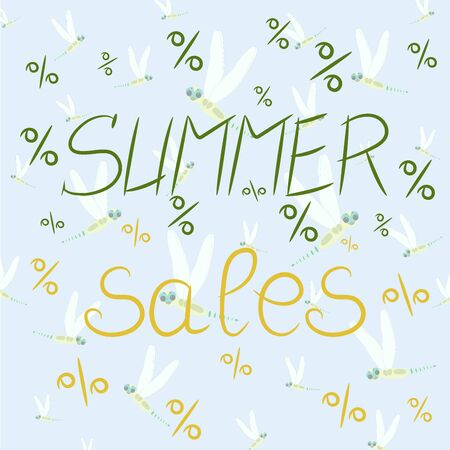 Summer sales pattern Çizim