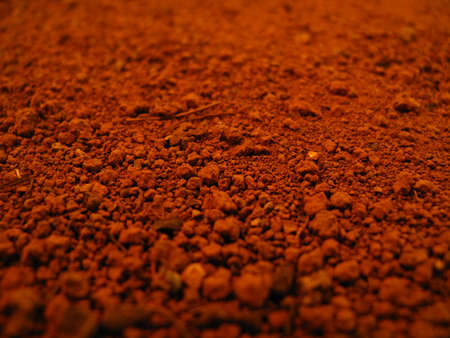 Red earth, red clay