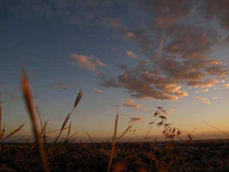 Beautiful sunset Zdjęcie Seryjne