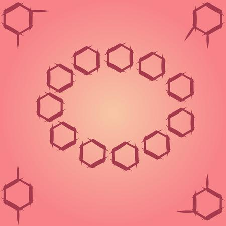 meta: Molecule benzene ortho meta couple standing; cirсle-frame