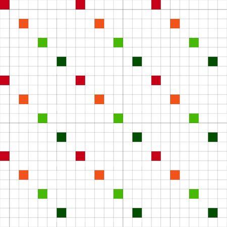 multicolored: Multicolored vector pattern of squares