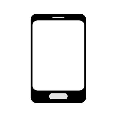 smart phone: Smart phone icon black