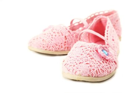 pink shoes Stock Photo - 13089455