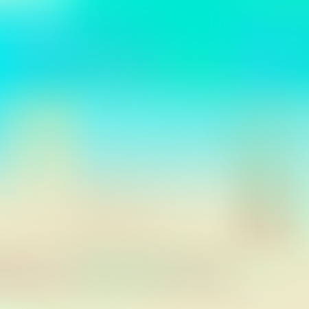 aqua: aqua and beige blurred background, suitable for flat style, vector illustration, eps 10, with gradient mesh