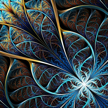 abstract fractal theme, illustration, computer generated artwork