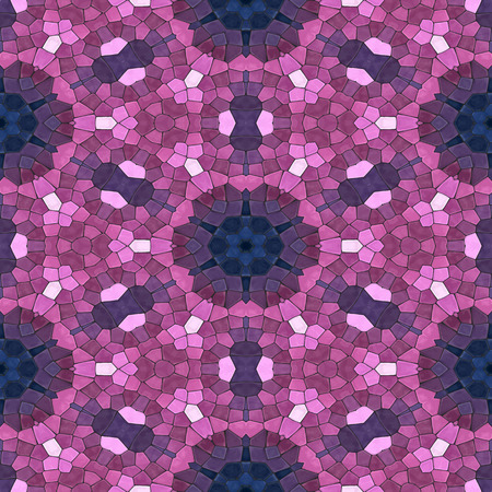 pink and dark blue mosaic seamless pattern, vector illustration, eps 10 Vector