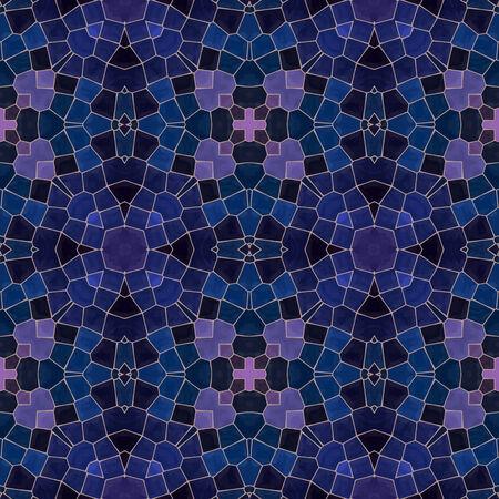 pink and dark blue mosaic seamless pattern, vector illustration.