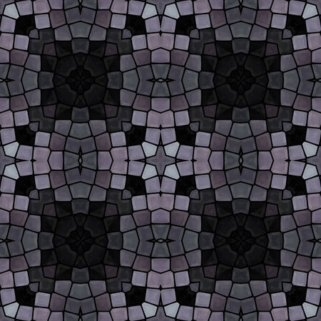 paving: gray mosaic seamless pattern, vector illustration, eps 10 Illustration