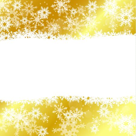 abstract winter holiday background with snowflakes, vector illustration Vetores